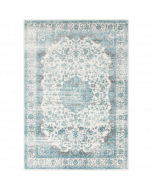 Aqua and Teal Aberdine Rug - Variety of Sizes Available