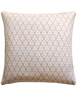 Arboreta Decorative Pillow with Blush Pink Tree Pattern – Available in Three Sizes