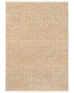 Beige and Ivory Area Rug With Tassels - Available in a Variety of Sizes