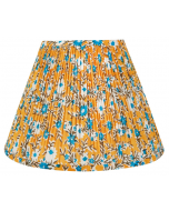 Bunny Williams Alderley Yellow & Blue Floral Lampshade - Available in Two Sizes
