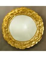 Carvers' Guild Vista II Round Mirror in Two Different Finishes