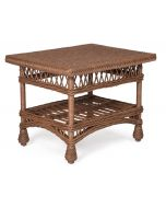 Harbor Front Wicker Coffee Table – Available in a Variety of Finishes