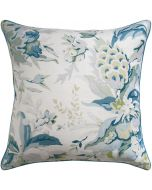 Horseshoe Bay Linen Square Decorative Pillow – Available in Two Sizes