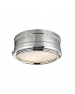 Hudson Valley Lighting Small Rye Two Light Ceiling Flush Mount or Porthole Sconce  Available in Three Finishes
