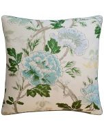 Inisfree Floral Decorative Pillow in Green and Aqua – Available in Two Sizes