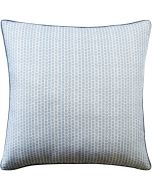 Kaya Leaf Decorative Pillow in Sky Blue – Available in Three Sizes