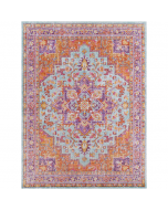 Layla Purple Multi Persian Design Area Rug - Available in a Variety of Sizes