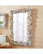 Oyster Bay Rectangle Shell Wall Mirror - ON BACKORDER UNTIL LATE SEPTEMBER 2021