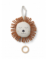 Quilted Music Natural Lion Mobile for Babies