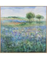 Rolling Hill Abstract Landscape Canvas Wall Art in Frame - Multiple Frames to Choose From