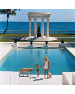 """Slim Aarons """"Nice Pool"""" Print by Getty Images Gallery - Variety of Sizes Available"""