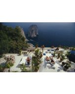 """Slim Aarons """"Il Canille"""" Print by Getty Images Gallery - Variety of Sizes Available"""