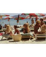 """Slim Aarons """"Saint-Tropez Beach"""" Print by Getty Images Gallery - Variety of Sizes Available"""