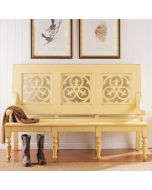 Somerset Bay Sullivans Island Bench - Available in a Variety of Finishes