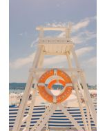 The Lifeguard Stand, St. Tropez Print by Gray Malin