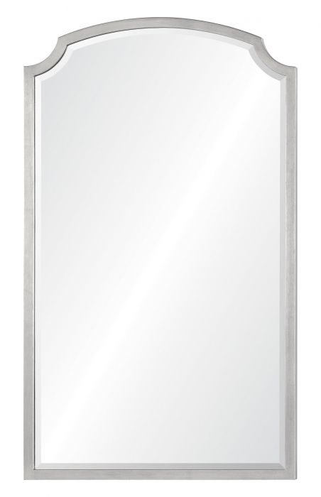 The Well Ointed House Luxuries For Home Barclay Butera Simple Antiqued Silver Leaf Iron Wall Mirror