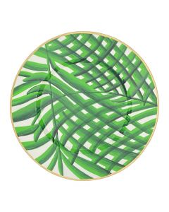 14 Inch Palm Charger Plate Set of 4 - Available in Three Colors (GREEN IS SOLD OUT)