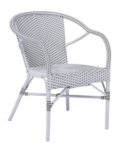 AluRattan™ Arm Chair - Available in Two Colors
