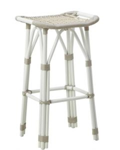 AluRattan™ Woven Bar Stool - Available in Two Colors