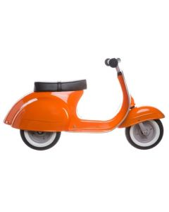 PRIMO Ride On Kids Toy Moped Classic  (Orange) - ON BACKORDER UNTIL FEBRUARY 2021