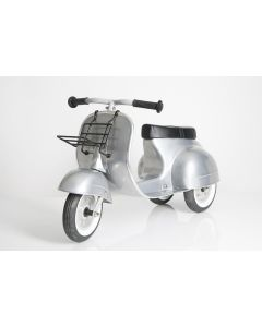 PRIMO Ride On Kids Toy Moped Special (Silver) - ON BACKORDER UNTIL FEBRUARY 2021