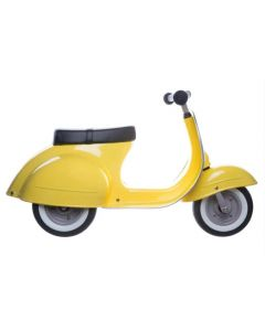 PRIMO Ride On Kids Toy Classic Moped (Yellow) - ON BACKORDER UNTIL FEBRUARY 2021