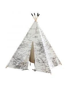 Around the World Map Play Tent / Teepee for Kids
