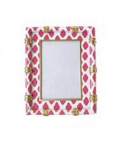 Parsi Pink Bamboo Picture Frame - ON BACKORDER UNTIL LATE APRIL 2021
