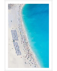 Beach Scene VIII Framed Wall Art - Available in Variety of Sizes
