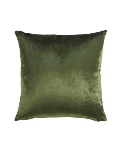 Velour Pillow in Olive Green - Available in Three Sizes