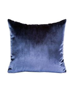 Velour Pillow in Navy Blue - Available in Three Sizes