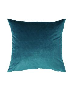 Velour Pillow in Dark Teal Blue - Available in Three Sizes