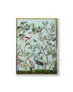 Bird and Branch Chinoiserie 2 Framed Wall Art