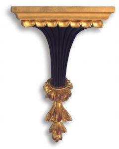 Black and Gold Traditional Wall Bracket