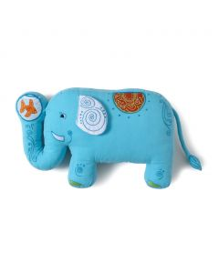 Blue Elephant Shaped Pillow for Toddlers and Babies