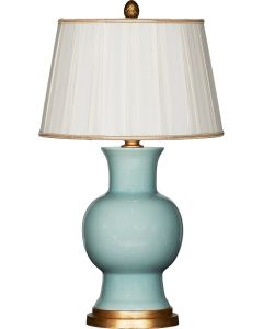 Juliette Celadon Table Lamp With Shade