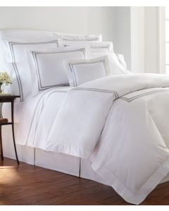 Brendon Two Bands Tape Trimmed Duvet- Available in a Variety of Trim Colors and Sizes