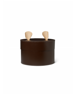 Brown Bear Storage Box with Ears for Kids