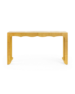 Bungalow 5 Jaques Console Table in Antique Textured Brass