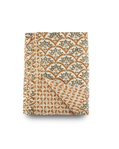 Bunny Williams Reversible Flora Throw Blanket, Available in Three Sizes