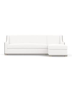 Bunny Williams Pembroke Sectional Sofa - Available in a Variety of Finishes & Fabrics