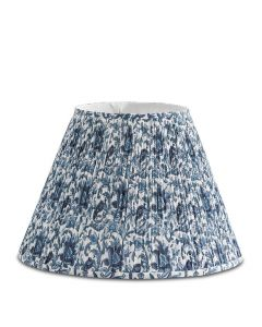 Bunny Williams Southern Blues Blue & White Lampshade, Available in Two Sizes