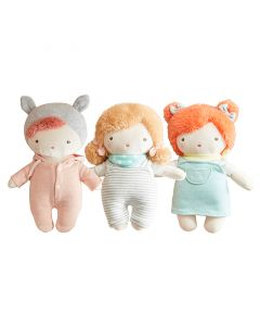Buttercup, Coral, and Poppy Cuddle Dolls