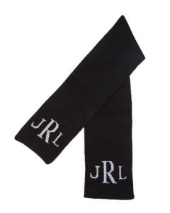 Classic Monogram Personalized Scarf Available in Variety of Colors