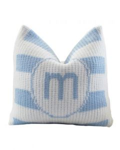 Modern Stripe Pillow Available in Variety of Colors