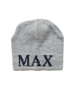 Regular or Earflap Personalized Hat Available in Variety of Colors