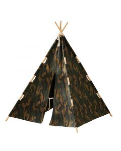 Camouflage Play Tent / Teepee for Kids