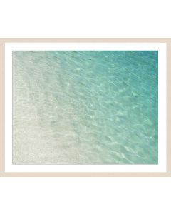 Caribbean Ocean Framed Wall Art - Available in Variety of Sizes