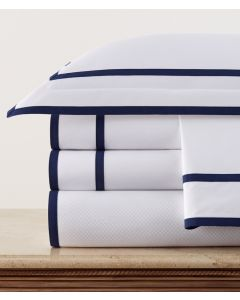 Carlisle Inset and Edged Tape Sheet Sets- Available in a Variety of Trim Colors and Sizes
