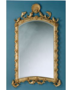 Carvers Guild Marthas Vineyard Nautical Wall Mirror - Available in Silver or Gold